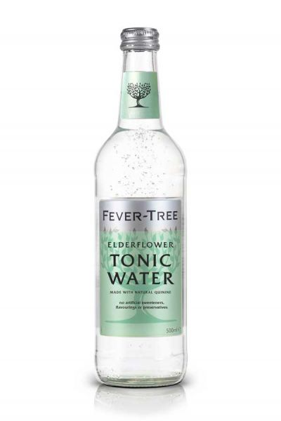 Fever Tree Elderflower Tonic Water 0,5l Glasflasche inkl. 0,15€ Pfand