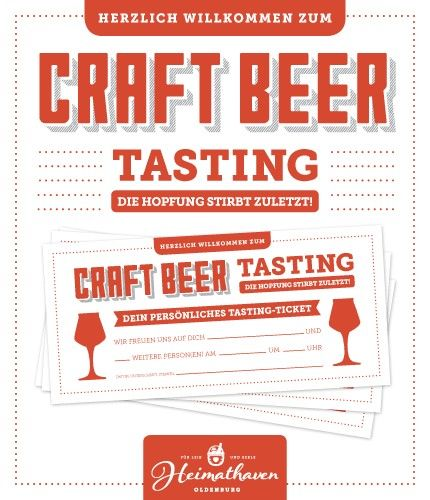 Craft Beer Tasting Oldenburg 06.07.19