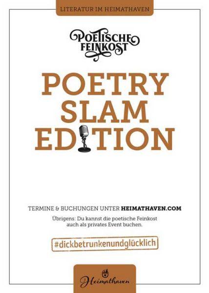 Poetische Feinkost / Oldenburg 25. Juni 2020