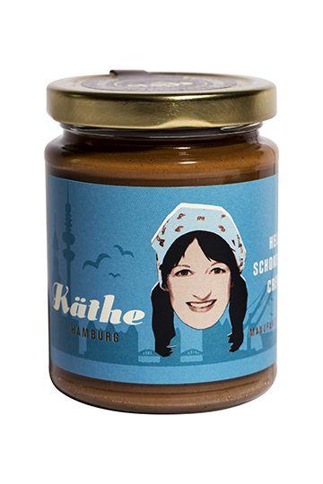 Käthe - Helle Schoko-Nuss-Creme