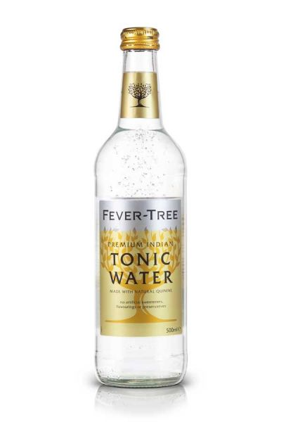 Fever Tree Indian Tonic Water 0,5l Glasflasche inkl. 0,15€ Pfand