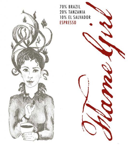 Flame Girl - Espresso 250g