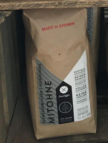 Mit Ohne - koffeinreduzierter Kaffee- 500g