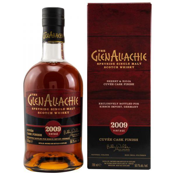 Sherry & Rioja Cuvée Cask Finish 20092021 The GlenAllachie Speyside Single Malt Scotch Whisky