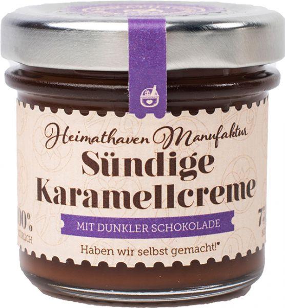 Sündige Karamellcreme - mit dunkler Schokolade Mini
