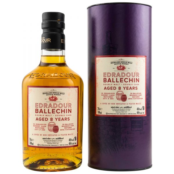 Edradour Ballechin Cuvee 8 Jahre