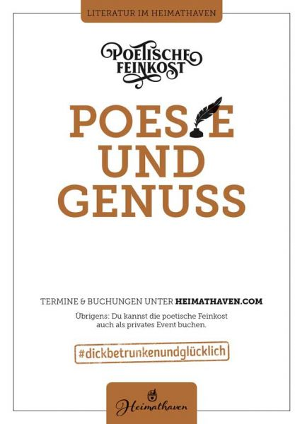 Poetische Feinkost / Oldenburg 23. April 2020