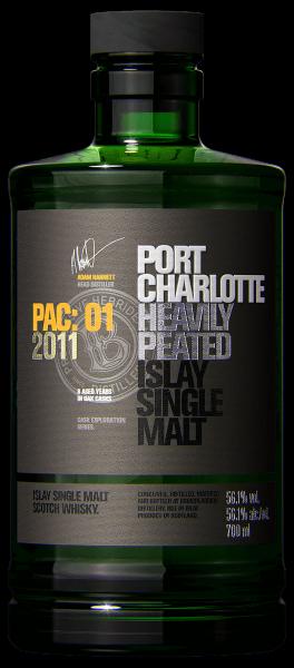 Port Charlotte PAC 01-2011 Islay Single Malt Scotch Whisky