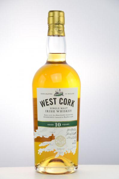 West Cork 10 y.o. Single Malt 40% - 0,7
