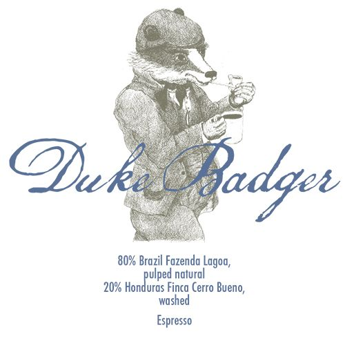 Duke Badger - Espresso 250g