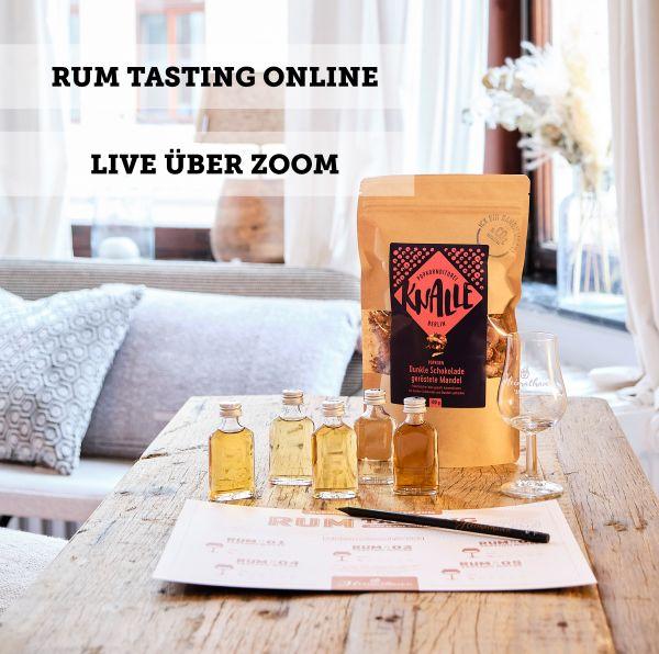 Rum Tasting Online - 20. März 2021 EINSTEIGER & FORTGESCHRITTENE