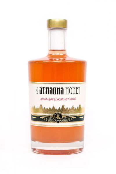 4 Seasons Honey Rhababer 20% 0,5l