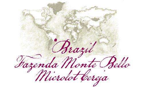 Brazil Monte Bello Microlot Cereja - Filterkaffee 250g