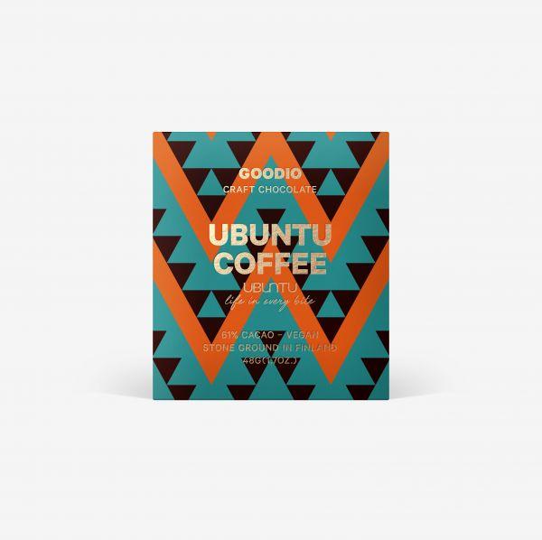 Coffee Ubuntu Schokolade 61% von Goodio