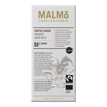 Malmö Bio Zartbitterschokolade - Coffee Crush- 80g