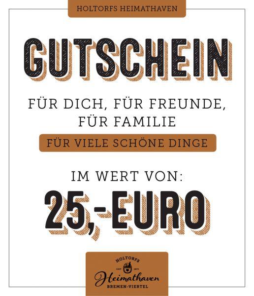 Gutschein Bremen 25€