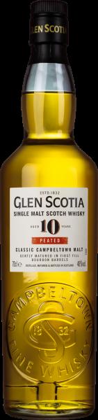 Glen Scotia 10 years peated Whisky