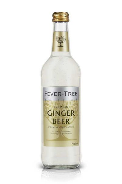 Fever Tree Ginger Beer 0,5l Glasflasche inkl. 0,15€ Pfand