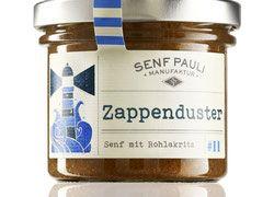 Zappenduster - Senf mit Rohlakritz- 110ml