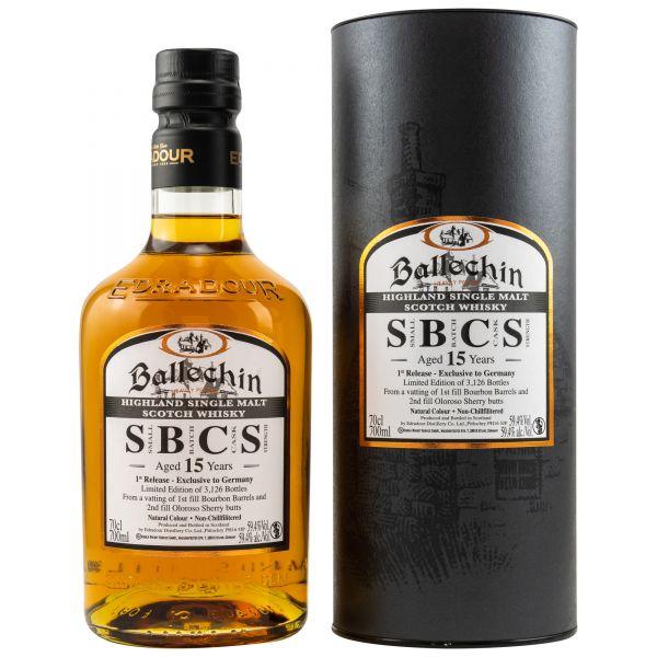 Ballechin 15 SBCS Edradour Batch 1
