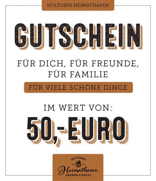 50€ Gutschein Holtorfs Heimathaven