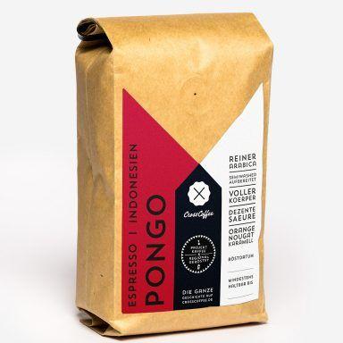Pongo (Indonesien) 250g, Espresso