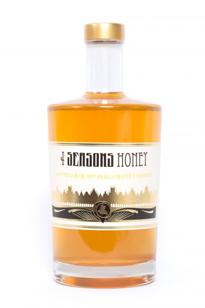 4 Seasons Honey Quitte Bergamotte 20% 0,5l
