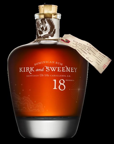 Kirk & Sweeney Rum 18 Jahre