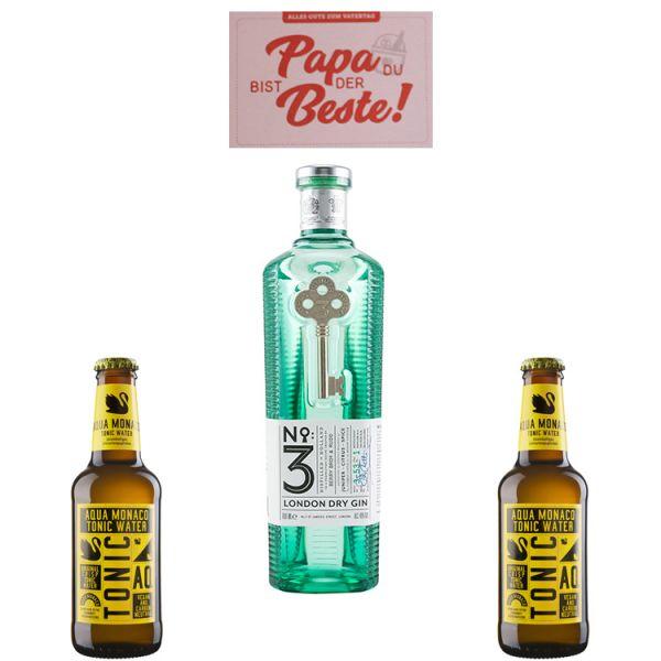 Vatertag Geschenk - Papa mag Gin richtig gern
