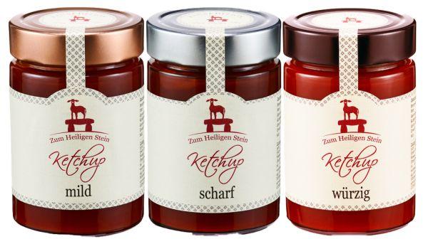 Ketchup 3er Set