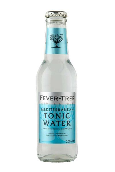 Fever Tree Mediterranean Tonic Water 0,2l Glasflasche inkl. 0,15€ Pfand