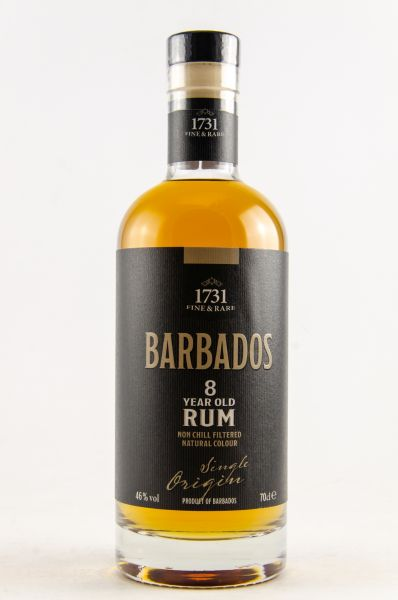 1731 Rum Barbados 8yo