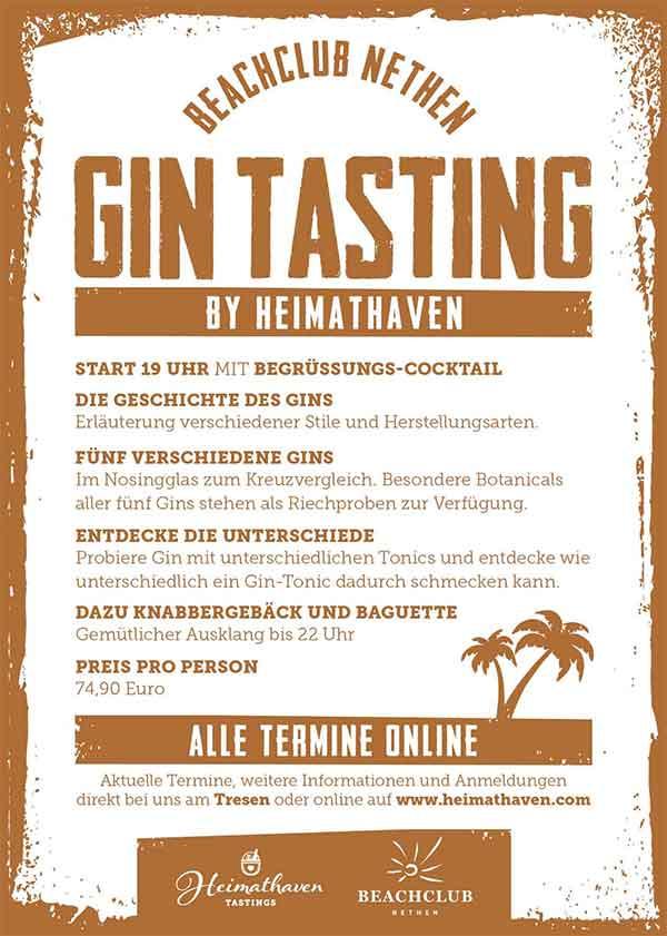 Heimathaven-Beachclub-Nethen-Gintasting-Flyer