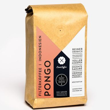 Pongo (Indonesien) 250g, Filterkaffee