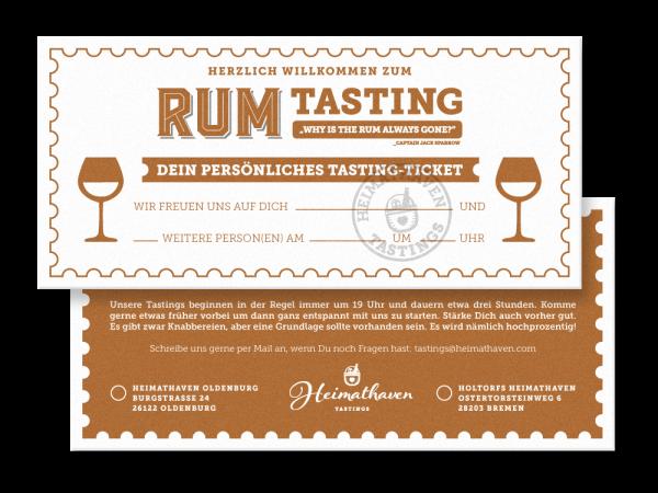 Rum Tasting Oldenburg 28. Februar 2020