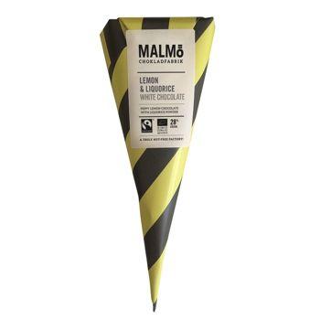Malmö Schokoladenkonfekt- Bio Lakritz und Zitrone - 90g