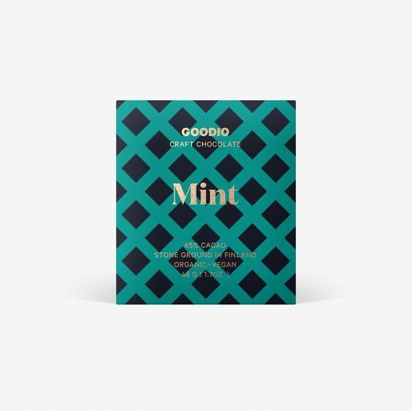 Mint Schokolade 65% von Goodio