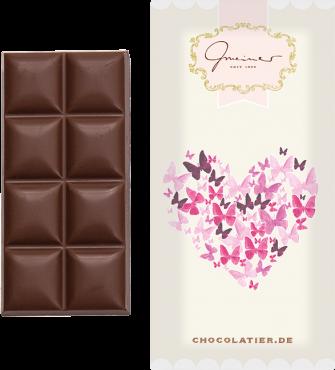 """Gmeiner - Schokoladentafel """"Herz""""- 45g"""