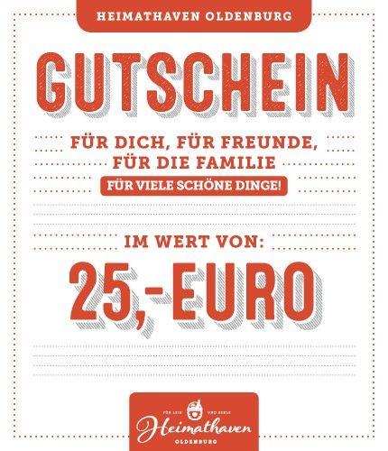 25€ Gutschein Oldenburg