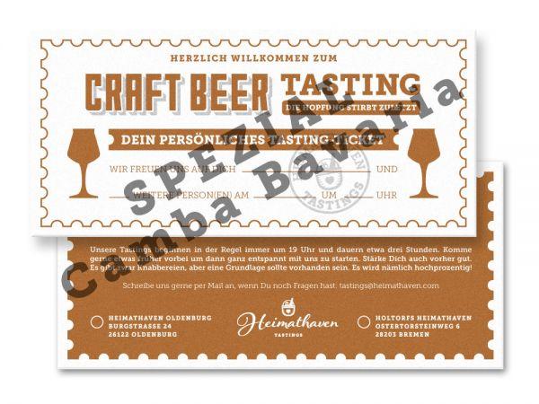 Camba Bavaria Craft Beer Tasting mit Brotzeit - Oldenburg 12. Juni 2020