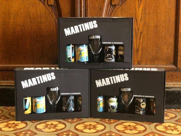 Martinus Geschenkset mit Craftbeerglas