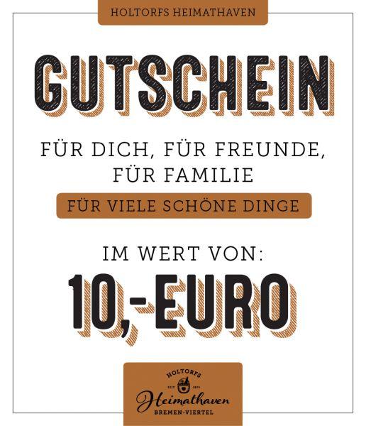10€ Gutschein Holtorfs Heimathaven