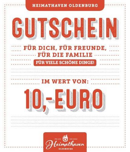 10€ Gutschein Oldenburg