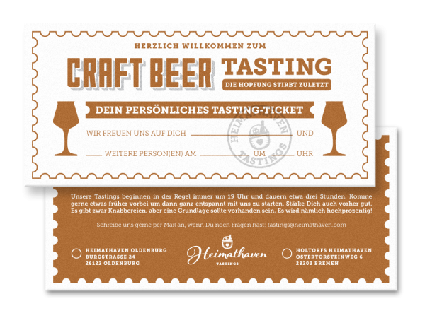 Craft Beer Tasting Oldenburg 02. Juni 2020