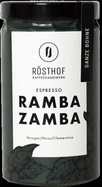 Rösthof Espresso Rambazamba