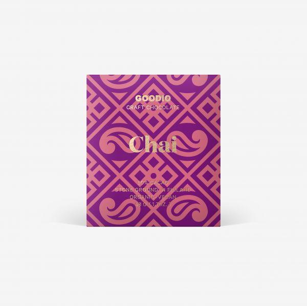 Chai Schokolade 50% von Goodio