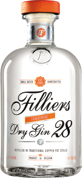 Filliers Tangerine Dry Gin 28