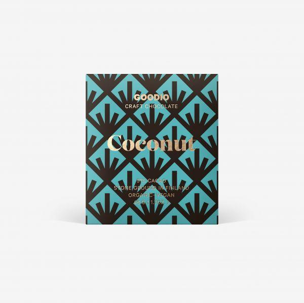 Kokosnuss Schokolade von Goodio