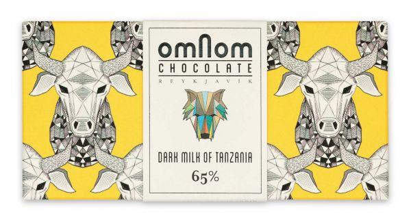 Omnom Chocolate Dark Milk of Tanzania