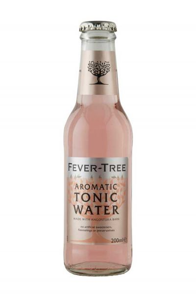 Fever Tree Aromatic Tonic Water 0,2l Glasflasche inkl. 0,15€ Pfand